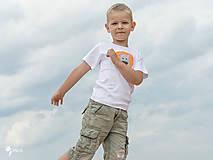 Detské oblečenie - tričko LEV 86 - 134 (dlhý aj krátky rukáv) - 10880332_