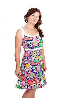 Tehotenské/Na dojčenie - 3v1 dojčiace šaty s čipkou - RŮZNÉ VZORKY - 10878494_