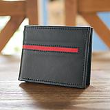 Peňaženky - Kožená peňaženka na doklady - Alex na karty - 10879176_