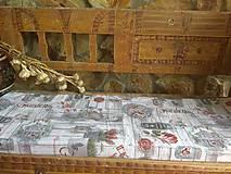 Úžitkový textil - Podsedák 120 x 40 x5 - 10881129_