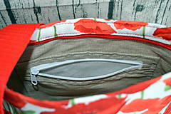 Kabelky - Crossbody kabelka divé maky - 10879983_
