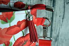 Kabelky - Crossbody kabelka divé maky - 10879984_