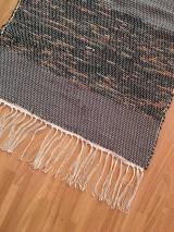 Úžitkový textil - Koberec z recyklovanej látky - 10878819_