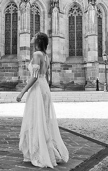"Šaty - Svadobné šaty ""gypsy"" - 10881102_"