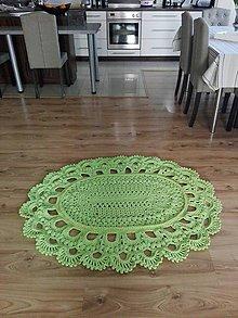 Úžitkový textil - Háčkovaný koberec - 10879465_
