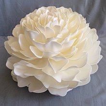 Svietidlá a sviečky - Big handmade flowers/ Veľké umelé kvety/Kunstblum - 10878670_