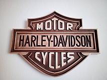 Obrazy - Harley - Davidson - 10879727_