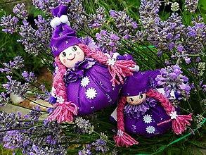 Dekorácie - Susugo Levanduľová bábika. - 10880337_