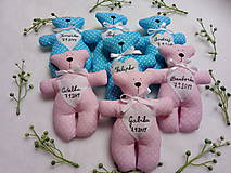 Darčeky pre svadobčanov - Macíky do ručičky :-) - 10879728_