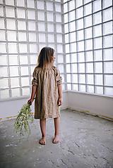 Detské oblečenie - Kamilka šaty  (110 - Bordová) - 10882792_