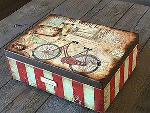 Krabičky - Drevená krabica - 10882679_