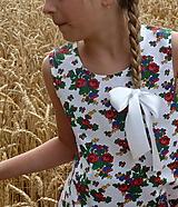 Detské oblečenie - Šatočky Babičkovské kvietky - 10881825_