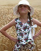 Detské oblečenie - Šatočky Babičkovské kvietky - 10881837_
