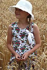 Detské oblečenie - Šatočky Babičkovské kvietky - 10881838_