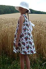 Detské oblečenie - Šatočky Babičkovské kvietky - 10881844_