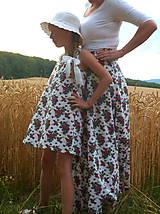 Detské oblečenie - Šatočky Babičkovské kvietky - 10881845_