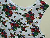 Detské oblečenie - Šatočky Babičkovské kvietky - 10881846_