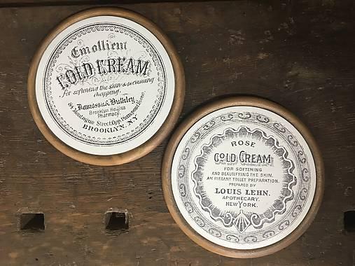 "Obraz ""Gold cream"""