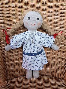 Bábiky - Katka - handrová folk bábika - 10883499_