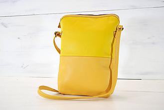 Veľké tašky - Kožená kabelka - Eli - 10881887_