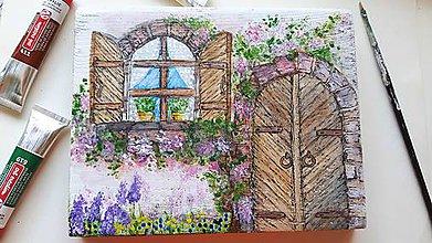Obrázky - Maľované Okno dokorán - 10882900_