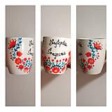 Nádoby - Ručne maľovaná šálka Najlepšia svagrina - 10884309_
