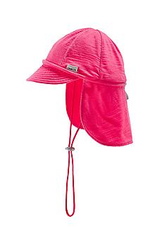 Detské čiapky - 100% merino ROSTOUCÍ KŠILTOVKA růžová - 10882127_