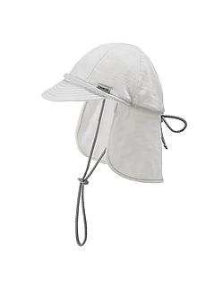 Detské čiapky - 100% merino ROSTOUCÍ KŠILTOVKA smetanová - 10882136_