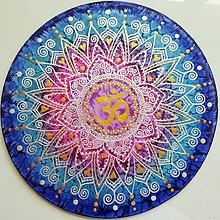 Dekorácie - Mandala ÓM - 10881965_