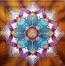 Obrazy - Mandala plodnosti, sily a inšpirácie - 10882040_