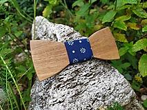 Doplnky - Pánsky drevený motýlik - 10883424_