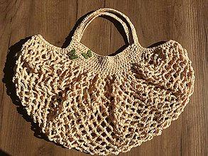 Nákupné tašky - Broskynka :) - 10883565_