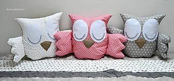 Textil - sovičky-vankúš - 10882129_