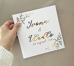 Papiernictvo - Svadobná kniha hostí Corneria - 10882030_