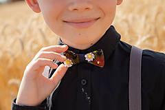 "Doplnky - Svadobný detský motýlik ""ej, zahraj že mi"" - 10881952_"