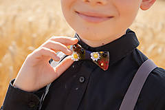 "Doplnky - Svadobný detský motýlik ""ej, zahraj že mi"" - 10881953_"