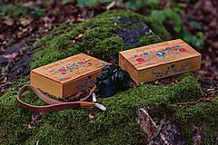 Krabičky - Drevená krabička na fotky s USB - 10884181_