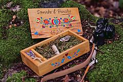Krabičky - Drevená krabička na fotky s USB - 10884191_