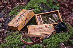 Krabičky - Drevená krabička na fotky s USB - 10884198_