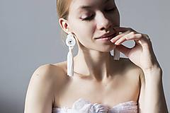 Náušnice - Svadobné náušnice Afrodita - 10882390_