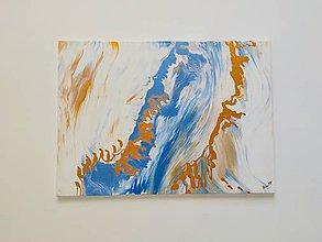 Obrazy - Abstraktný obraz Víchor - 10882112_