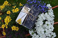 Drobnosti - Modrotlač - Ruže - 10884263_