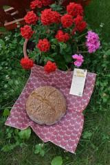 Drobnosti - Folklórne srdiečka červené - 10884275_
