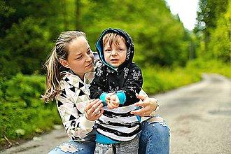 Detské oblečenie - Detská mikina s jeleňmi - 10883675_