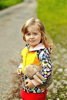 Detské oblečenie - Mikina guličky - 10883972_