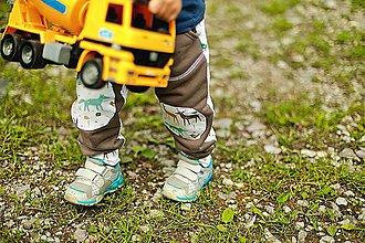 Detské oblečenie - Tepláčiky so zvieratkami - 10884097_