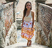 Šaty - Origo šaty  - sukňa volány - limit - 10883230_