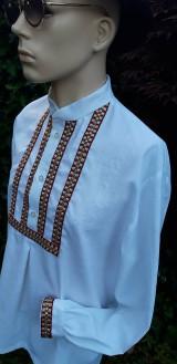 Košele - Pánska košeľa - folklór žije - 10884273_