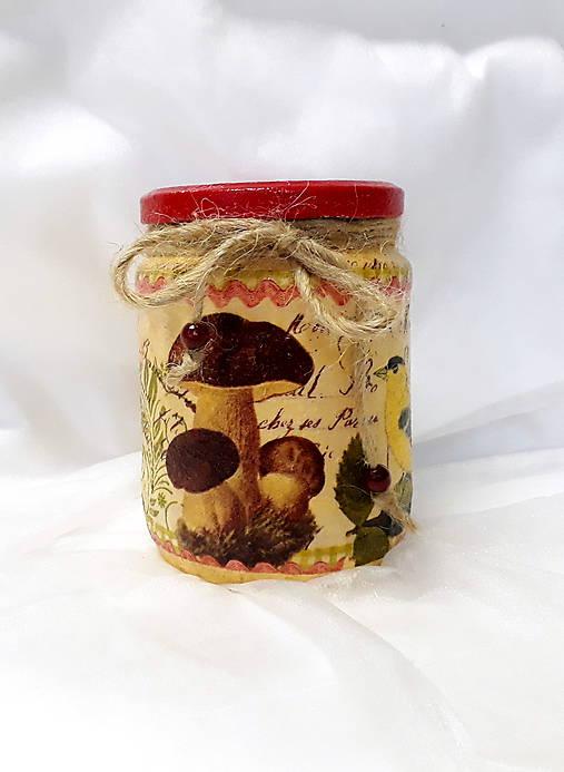 Dóza na sušené huby