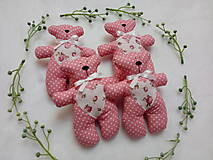 Darčeky pre svadobčanov - Macíky do ručičky :-) - 10883151_